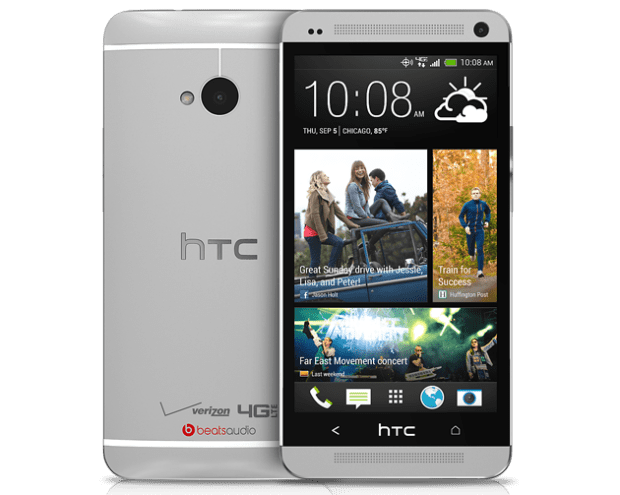 Pictured: HTC One