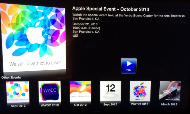 The iPad 5, iPad mini 2 and new Macbook Pro October 22nd Apple event will be streamed live.