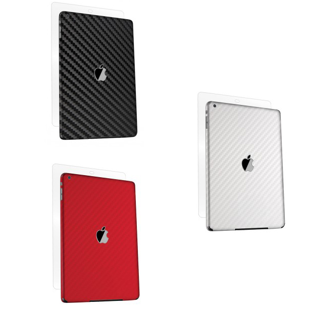 iPad Air Skin - BodyGuardz Carbon Fiber
