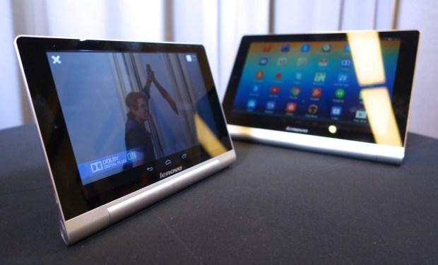 Lenovo Yoga Tablet 8 and Yoga Tablet 10.