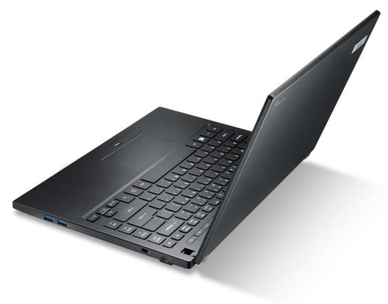 Acer TravelMate-P645 Left Facing Keyboard