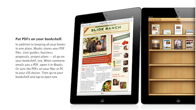 Apple's iBooks is a Mess