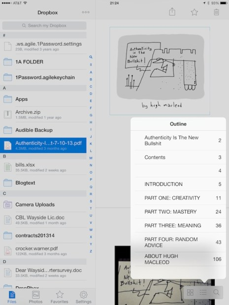 Titles and chapters in PDFs