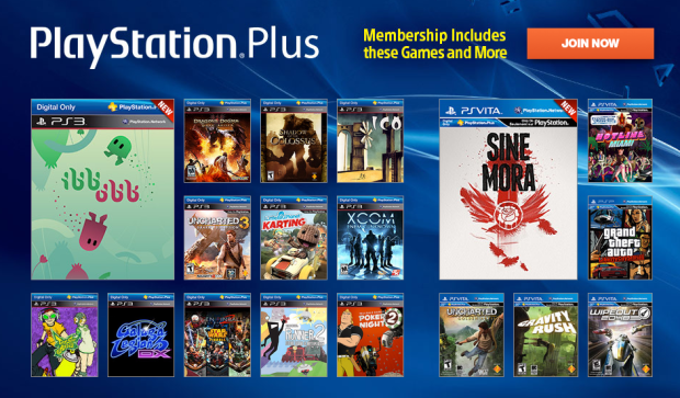 The PlayStation Plus membership is needed to play games online.