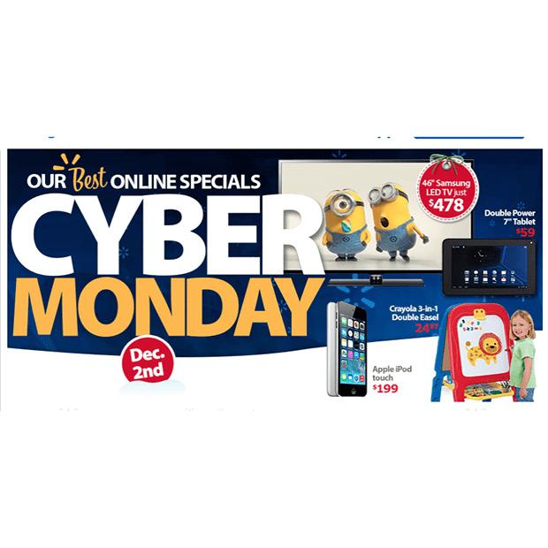 Walmart Cyber Monday 2013 Deals