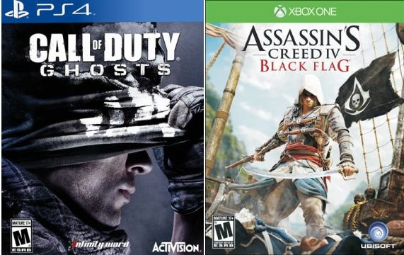 Xbox One and PS4 Black Friday Deals may bring big game savings.