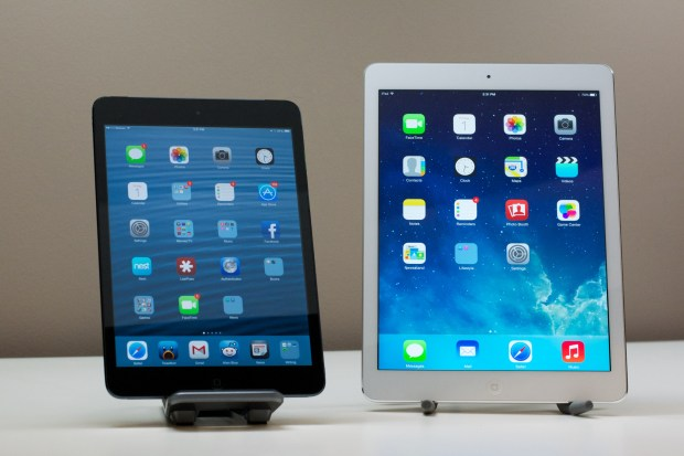 iPad Air vs iPad mini -  1