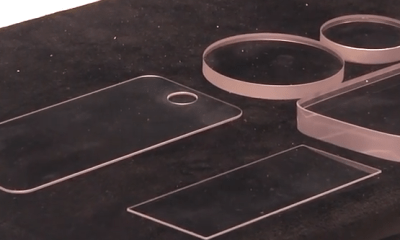 Sapphire glass that could deliver a stronger iPhone 6 screen. Image via IDG Network World Video.