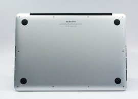 The bas of the Macbook Pro Retina is familiar.