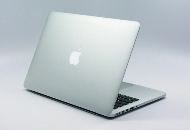 The 13-inch MacBook Pro Retina design is familiar.