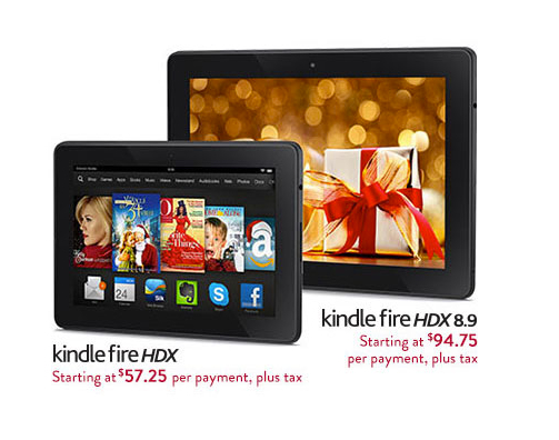 amazon offering installment payments for kindle fire hdx