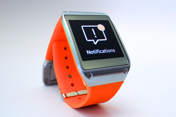 The Samsung Galaxy Gear is a smart watch with many features.