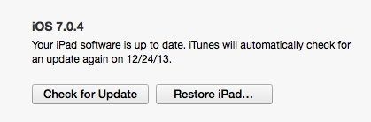 Restore the iPad to avoid boot loop issues.