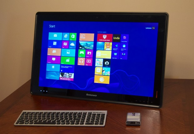 The Lenovo Horizon is a All in one, a table PC and a monitor for video games.