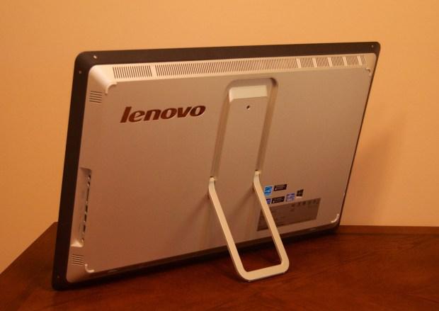 The Lenovo Horizon includes a kickstand.