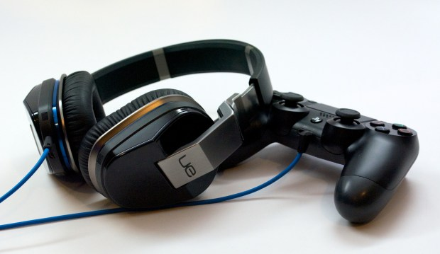Connect any headphones to the PS4 controller for private gaming.