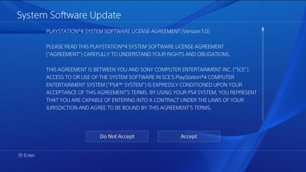 The PS4 1.52 System Update is available now.