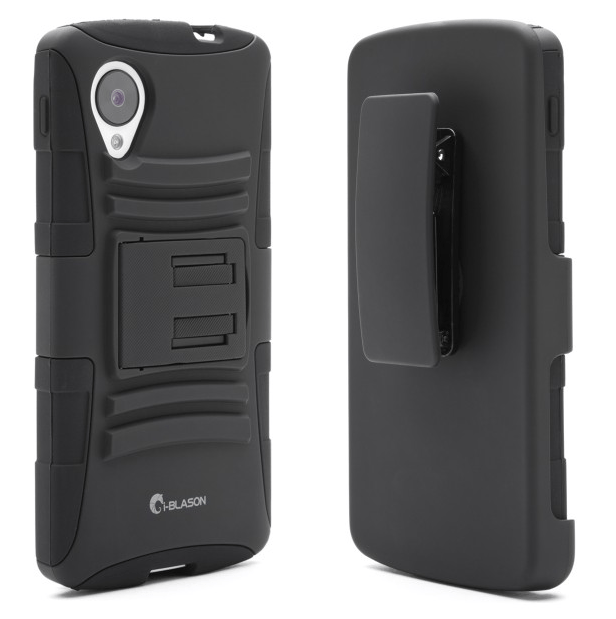 i-Blason Dual Layer Holster Case with Kickstand