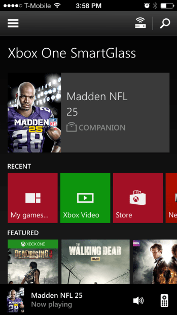SmartGlass on Xbox One (6)