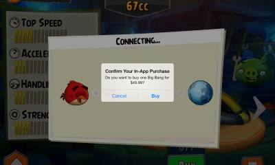 angry birds go in app purchase