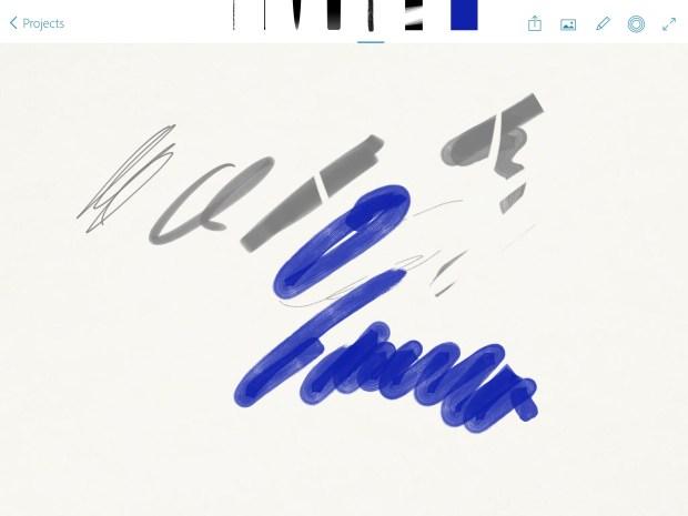 adobe photoshop sketch interface
