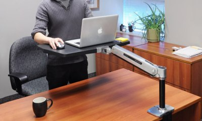 ergotron workfit p sit stand workstation