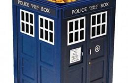 Dr. Who TARDIS Cookie Jar with Hidden Camera