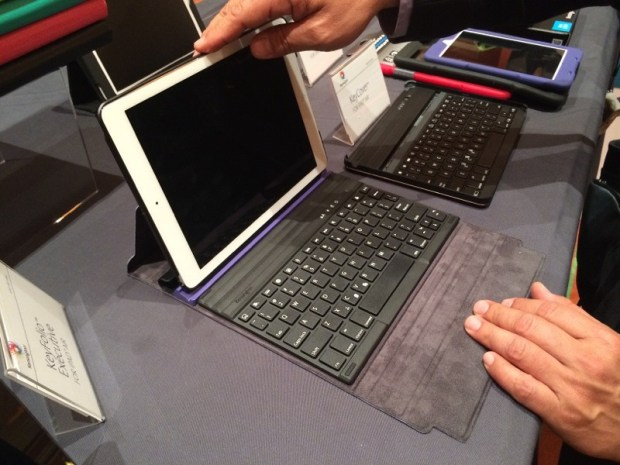 The Kensington KeyFolio Exact iPad Air Keyboard Case offers a MacBook Air inspired keyboard.