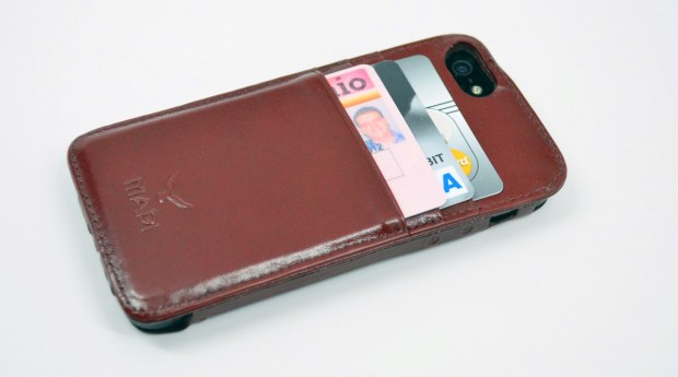 The MAPI Tion iPhone 5 wallet case is amazing.