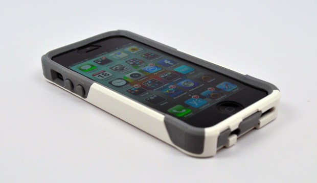 The OtterBox Commuter is thinner, but still quite nice at protecting the iPhone 5.