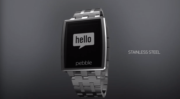 The new premium Pebble Steel is coming in January.