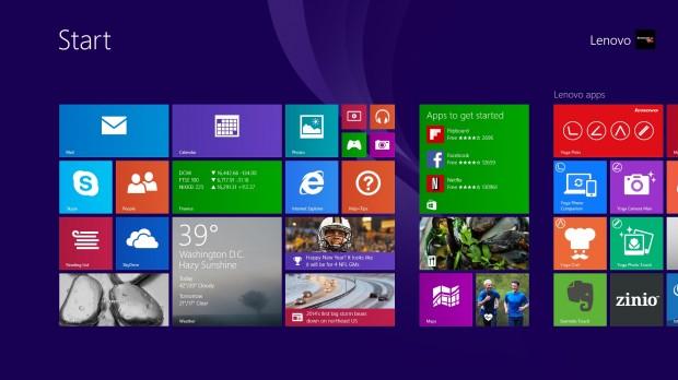 Yoga 2 Pro Windows 8