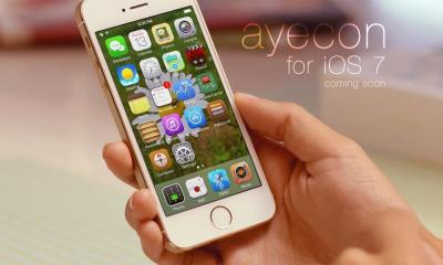 This iOS 7 theme will arrive soon, but there are already other great looking themes.