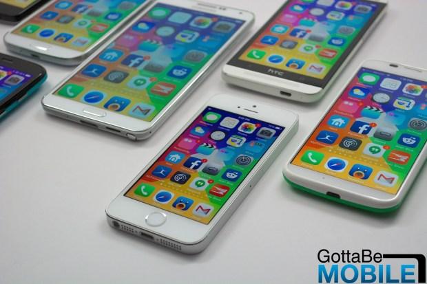 iPhone 6 screen size comparison -  001