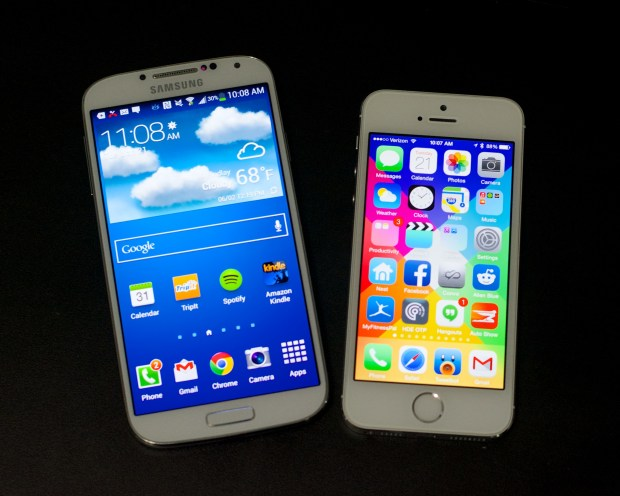 Sources say Apple is planning two iPhone 6 models with larger screens to better compete with the Galaxy S5 and Galaxy Note 4.