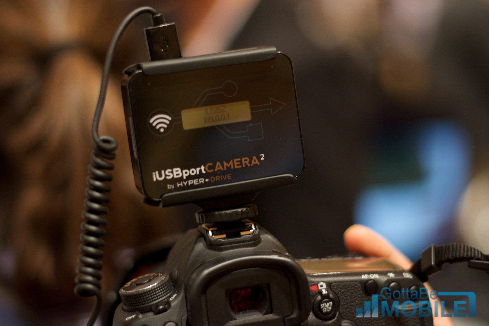 iUSBportCAMERA2 Connects DSLR to iPhone, iPad & Android