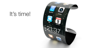 Artist concept of iWatch