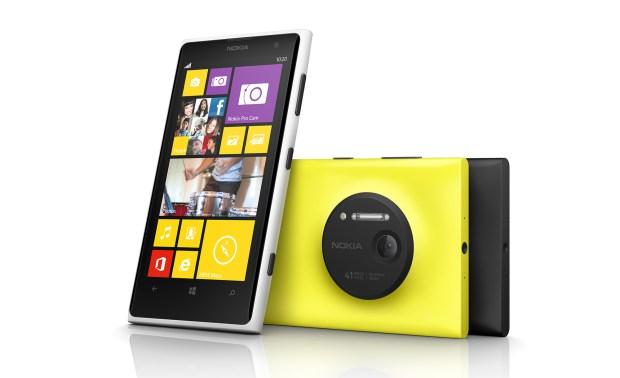 The Nokia Lumia 1020