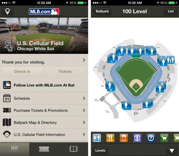 iBeacon at MLB Ballparks