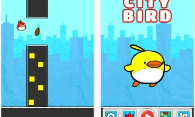 City Bird is another Flappy Bird replacement climbing to the top of the charts.