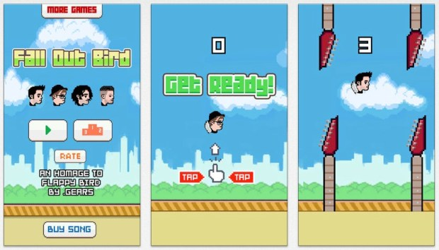 The Fall Out Bird game and an offer from the band push #FallOutBird to trend on Twitter.