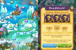 Farm Heroes Saga Cheats let you skip past roadblocks and get unlimited lives.