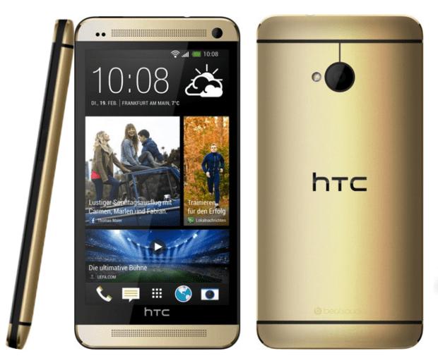HTCOne-gold
