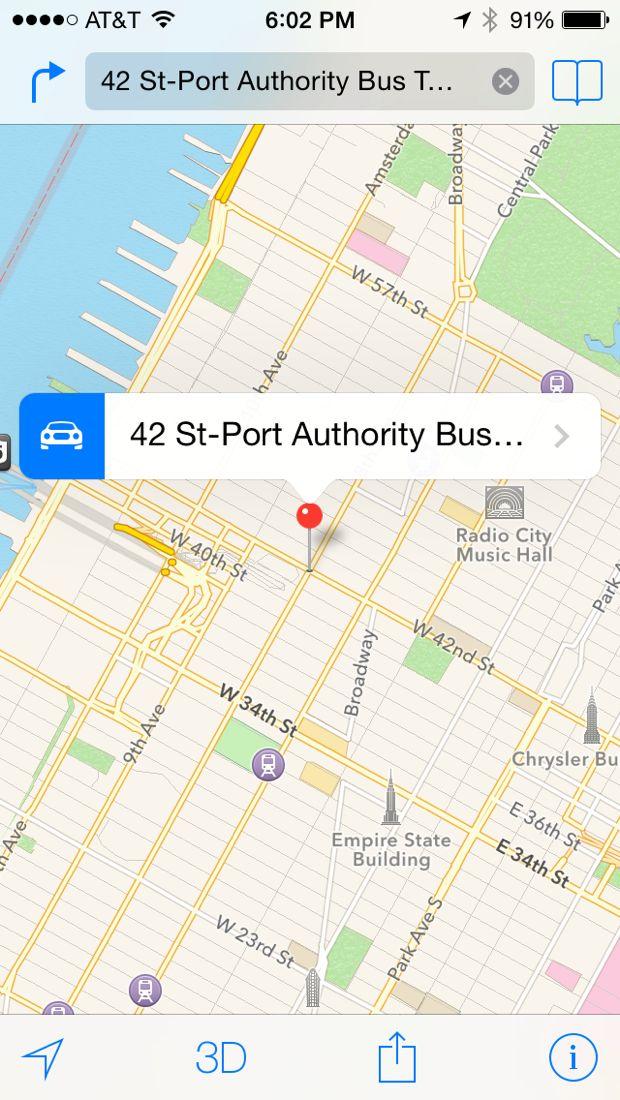 iphone maps app