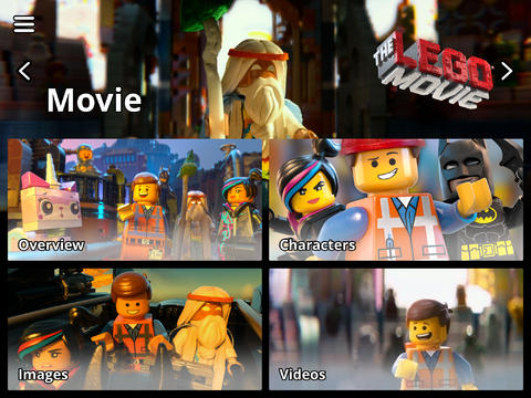 The LEGO Movie App and the LEGO apps are perfect movie companions.
