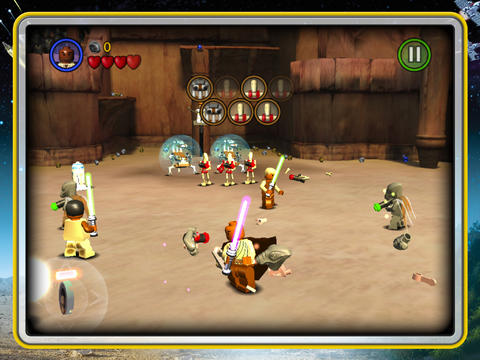 LEGO Star Wars for the iPad and iPhone keeps the movie fun continuing.