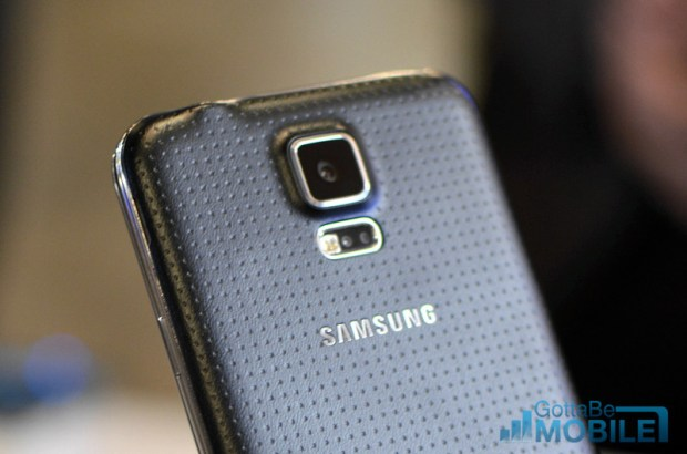 The Samsung Galaxy S5 is on its way.