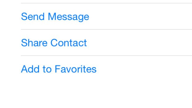 Add a contact to Favorites to allow them to get through Do Not Disturb mode.