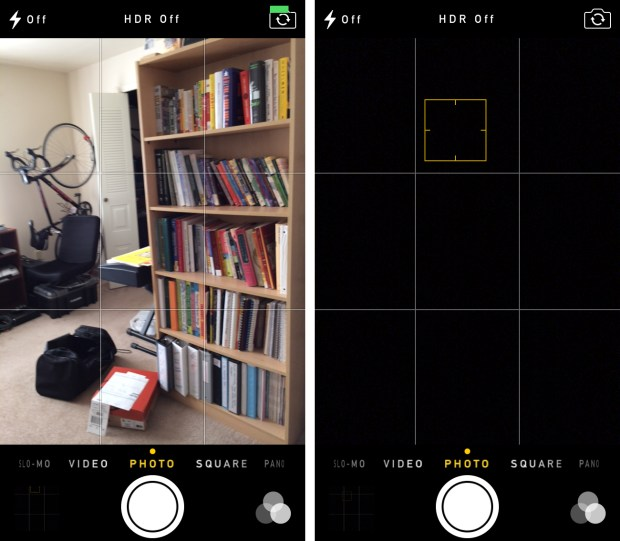 iPhone 5s camera issues