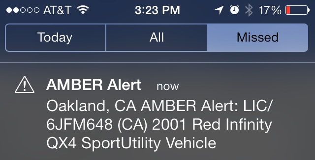 amber alert iphone sound iphone alert shocks bay area iphone users 5345